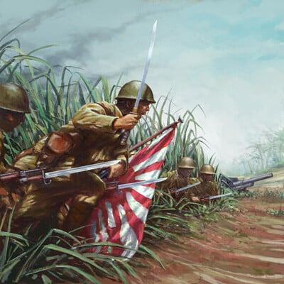 Asgeir jon asgeirsson japanes infantry batch ii