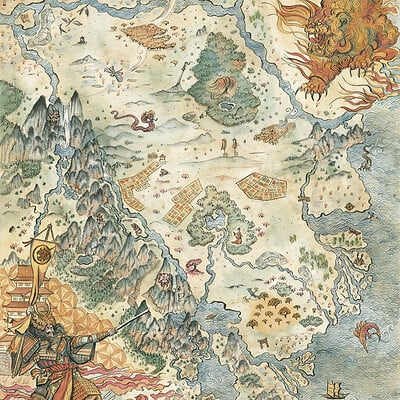 Francesca baerald fbaerald ffg l5r lionlandsmap