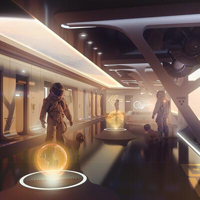 Encho enchev space corridor concept