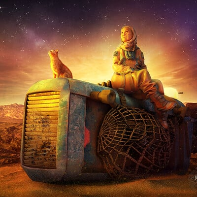 Ravven dhu space farmer ravven