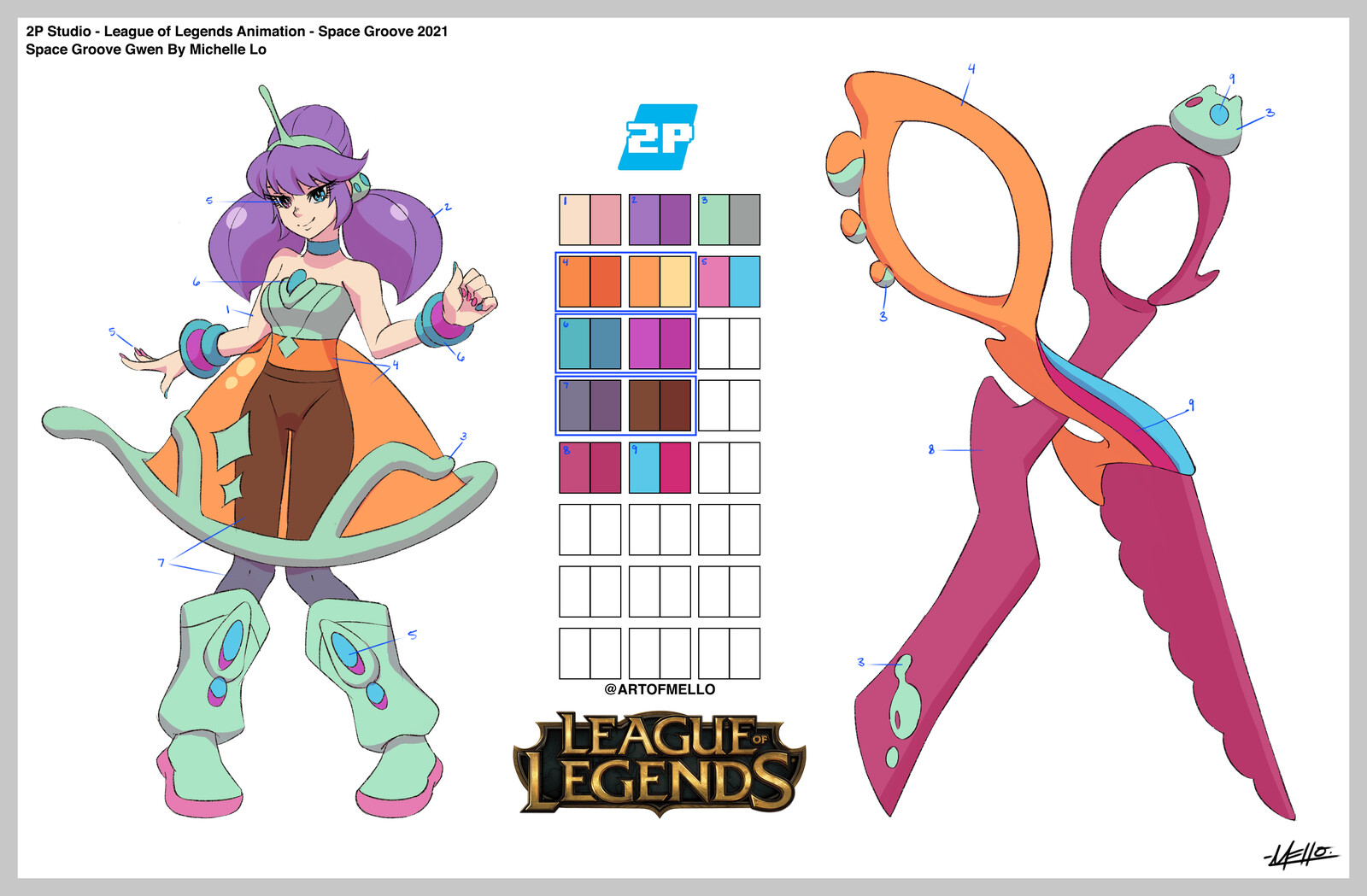 League of Legends - Space Groove Gwen