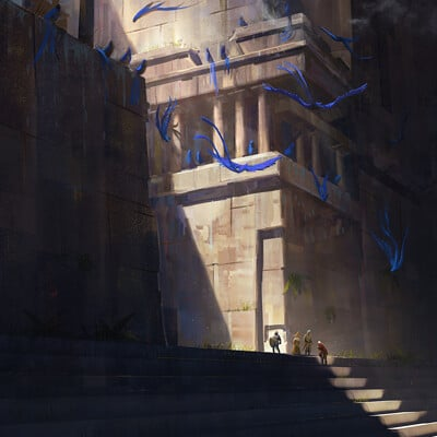 Jon dunham temple steps