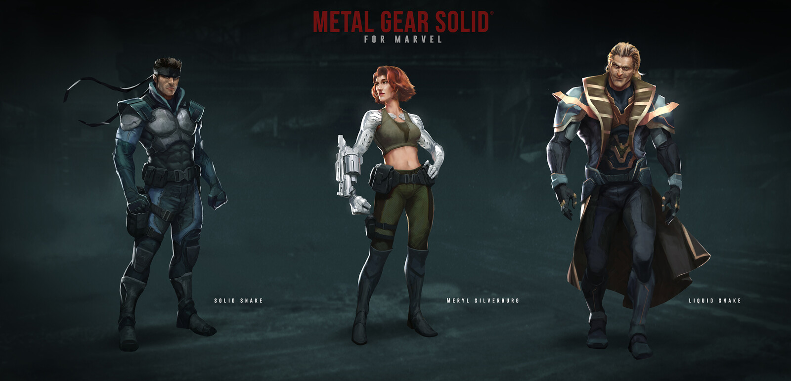 Personal take on Metal Gear Solid