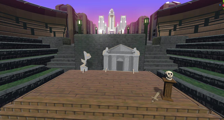 Amphitheater Scene