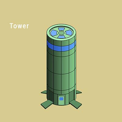 Alexander rudi gebeude 2 tower