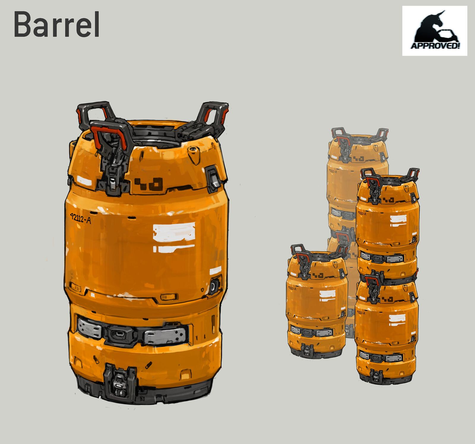 Halo 5 Barrel
