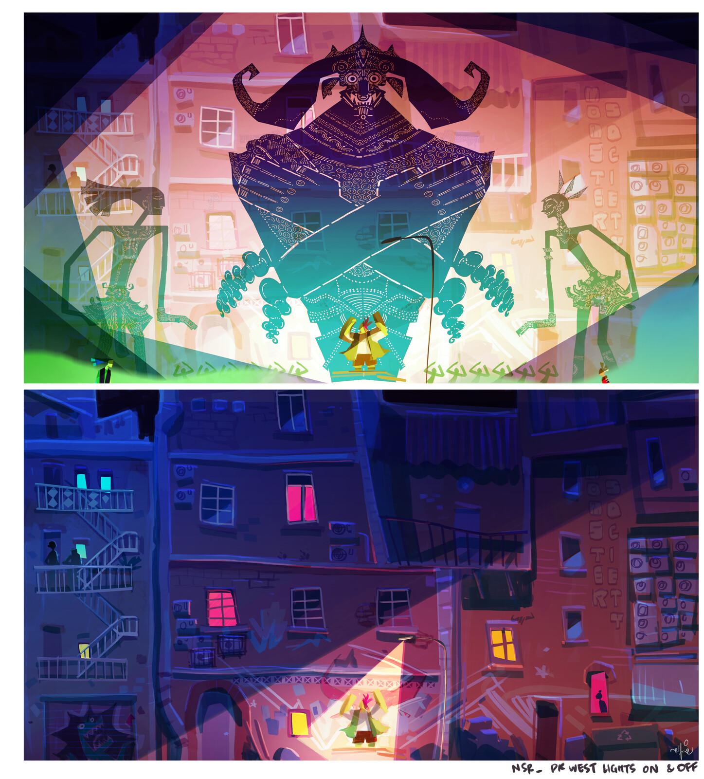 DK West concept art