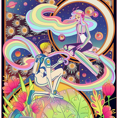 Jessica madorran patreon july 2021 rapuzel illustration artstation