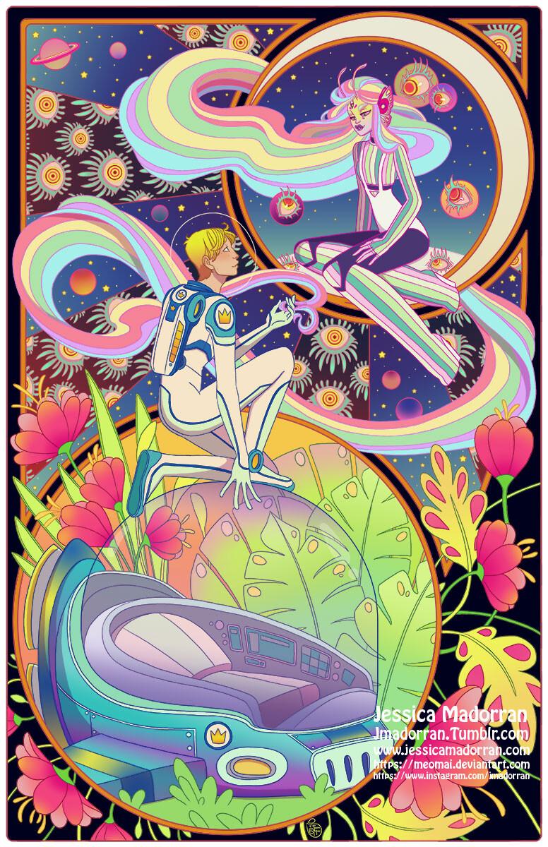 Patreon - July 2021 - Illustration - Twisted Rapunzel
