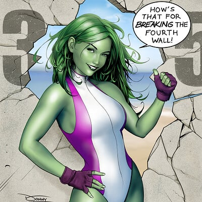 Donny d tran she hulk artstation 90 dpi