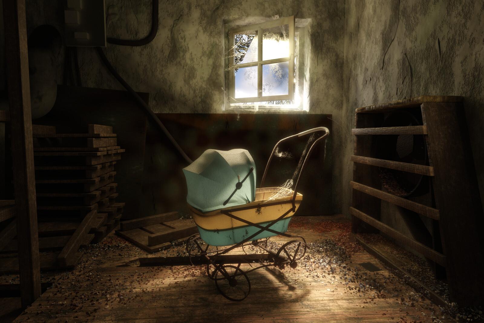The forgotten stroller