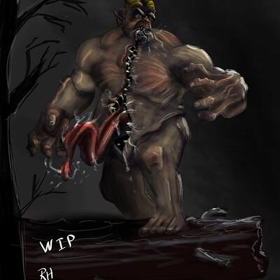 Richard huard monster mouth wip