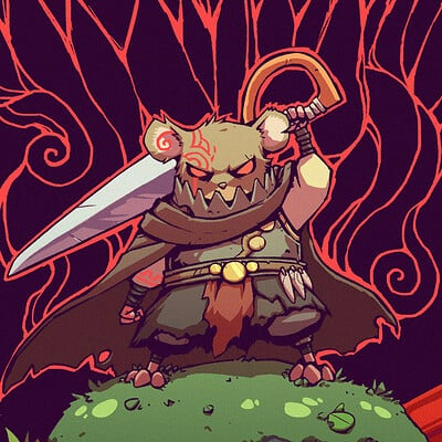 A shipwright mouse warrior