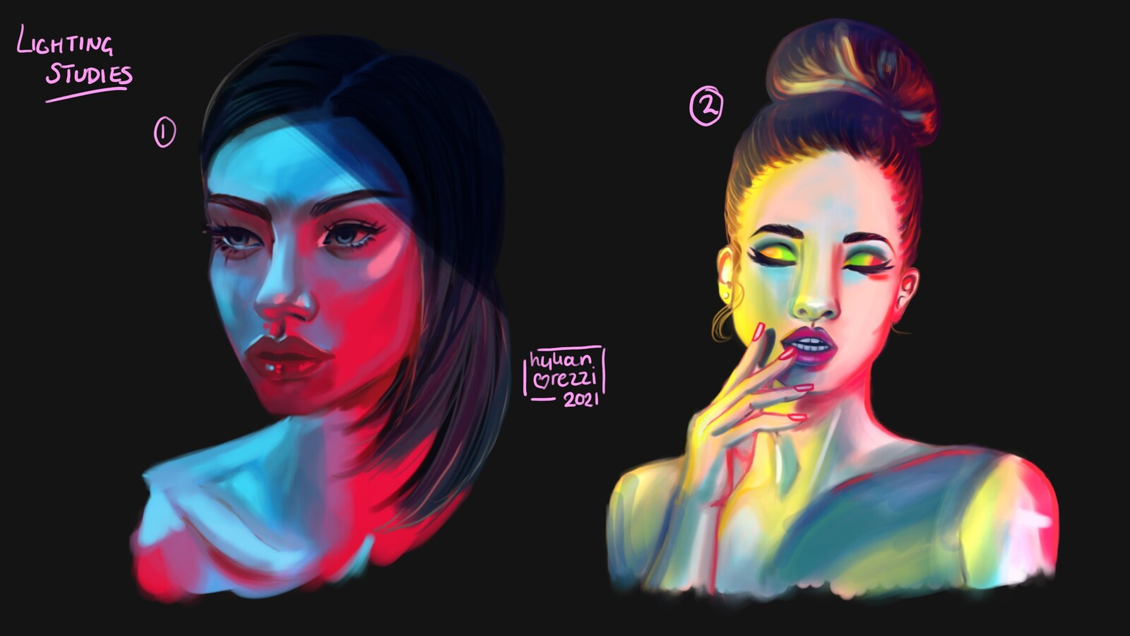 Lighting and Colour Studies