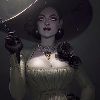 Jessica oyhenart lady dimitrescufin