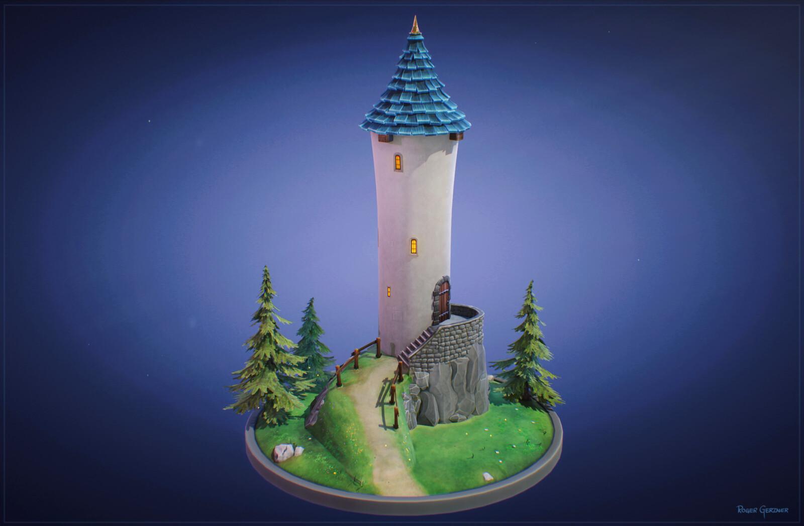Stylized Tower