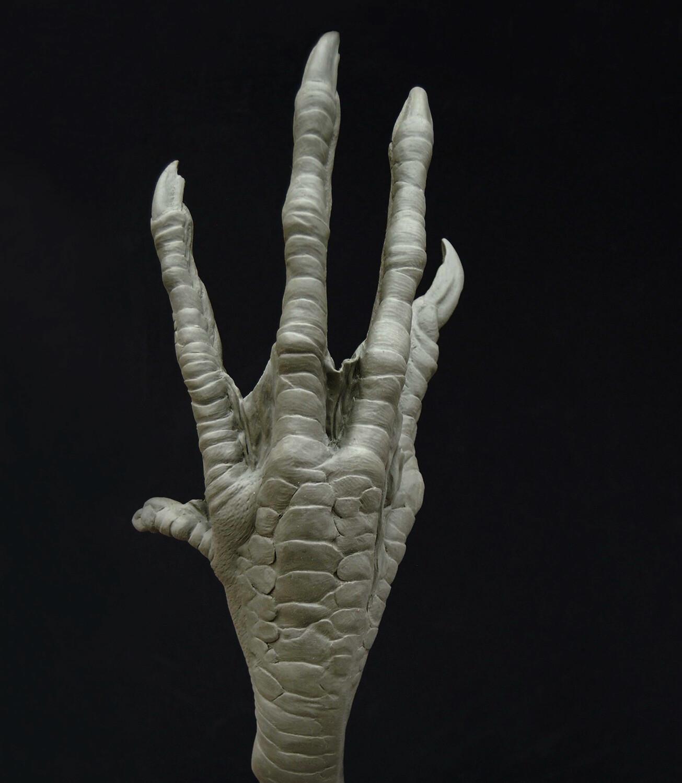 Dark Shadows  (2011) / Bird Witch Hand Sculpt