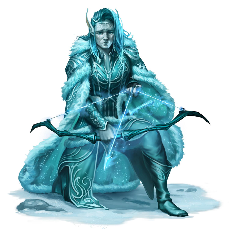 Elder Winter Eladrin