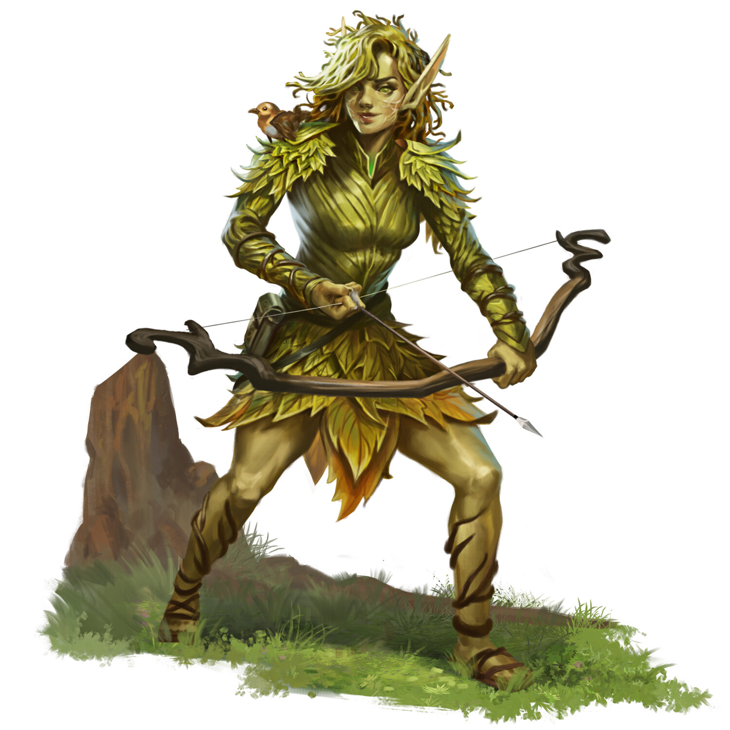 Young Spring Eladrin