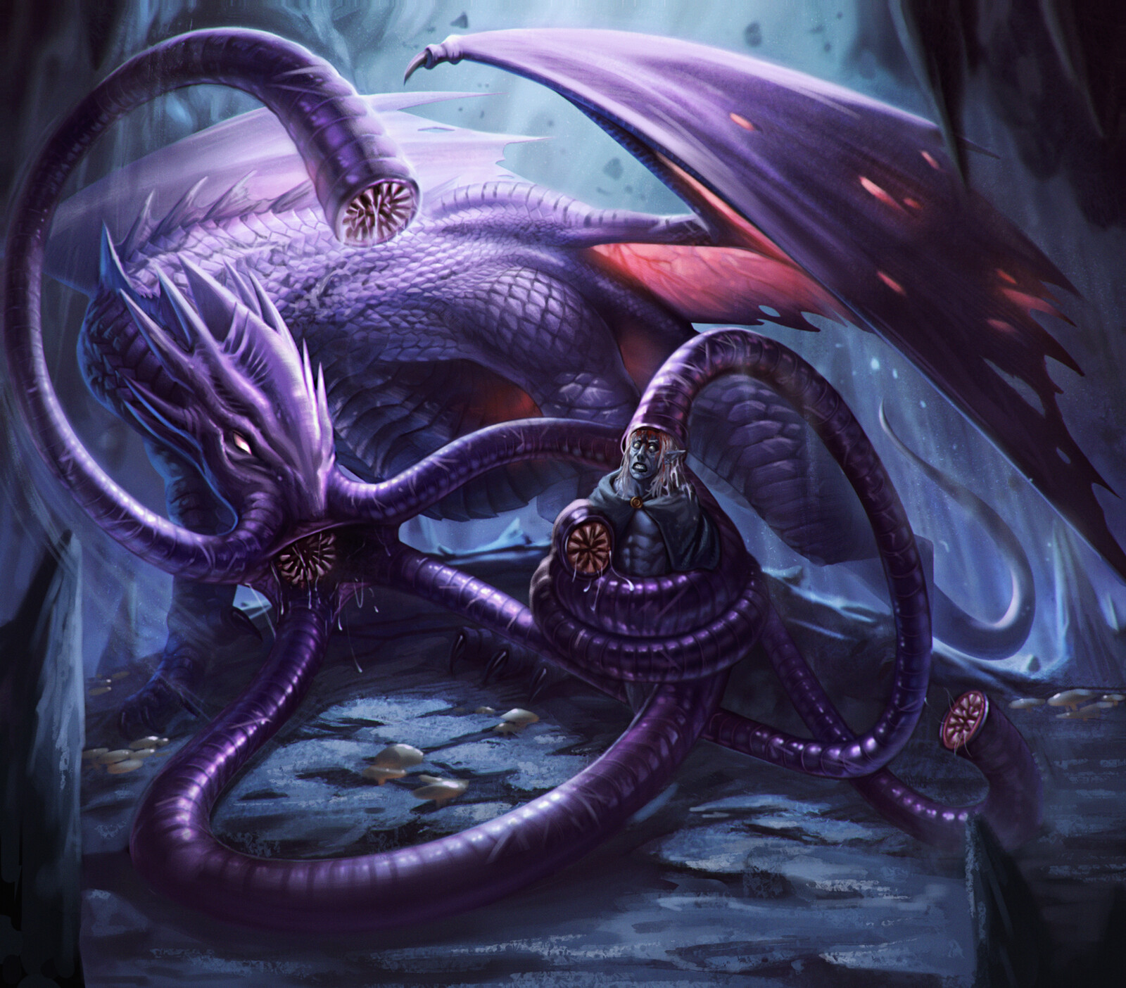 Lithidragon / Brainstealer Dragon