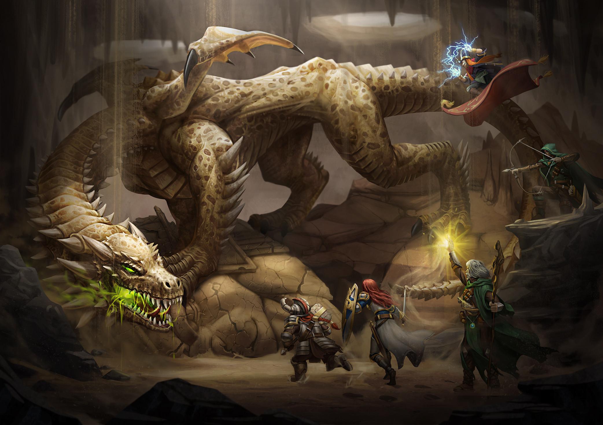 Brown Dragon 1