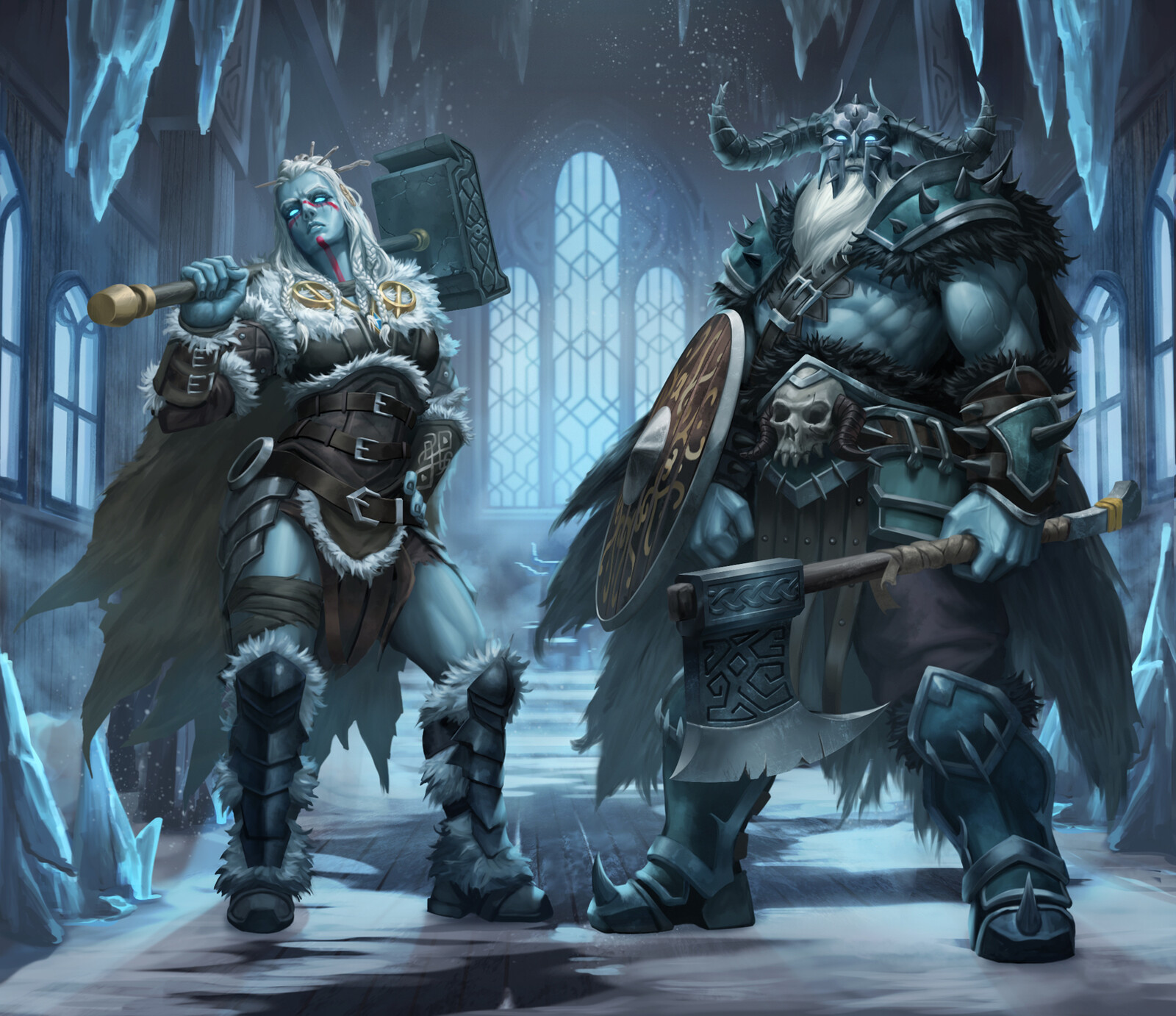 Frost Giants Group 2