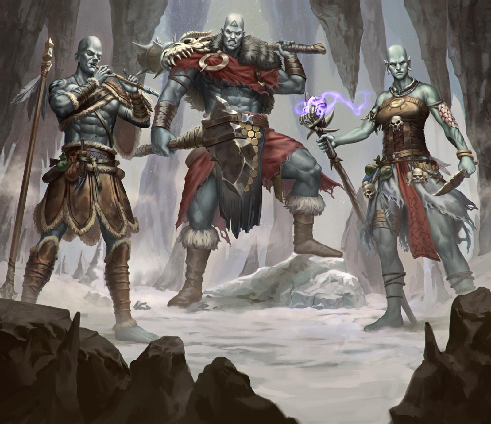 Stone Giants Group 1