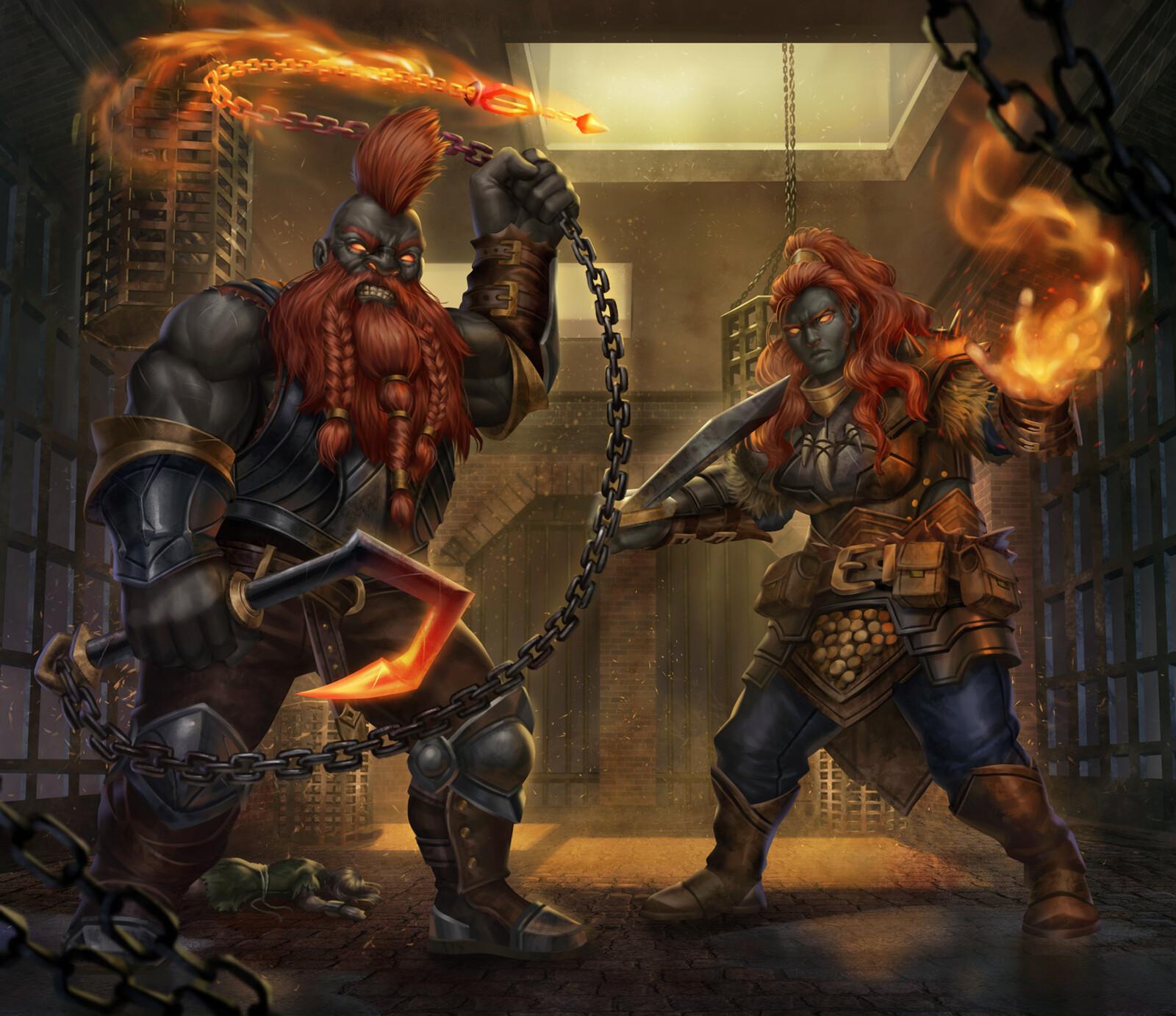Fire Giants Group 3