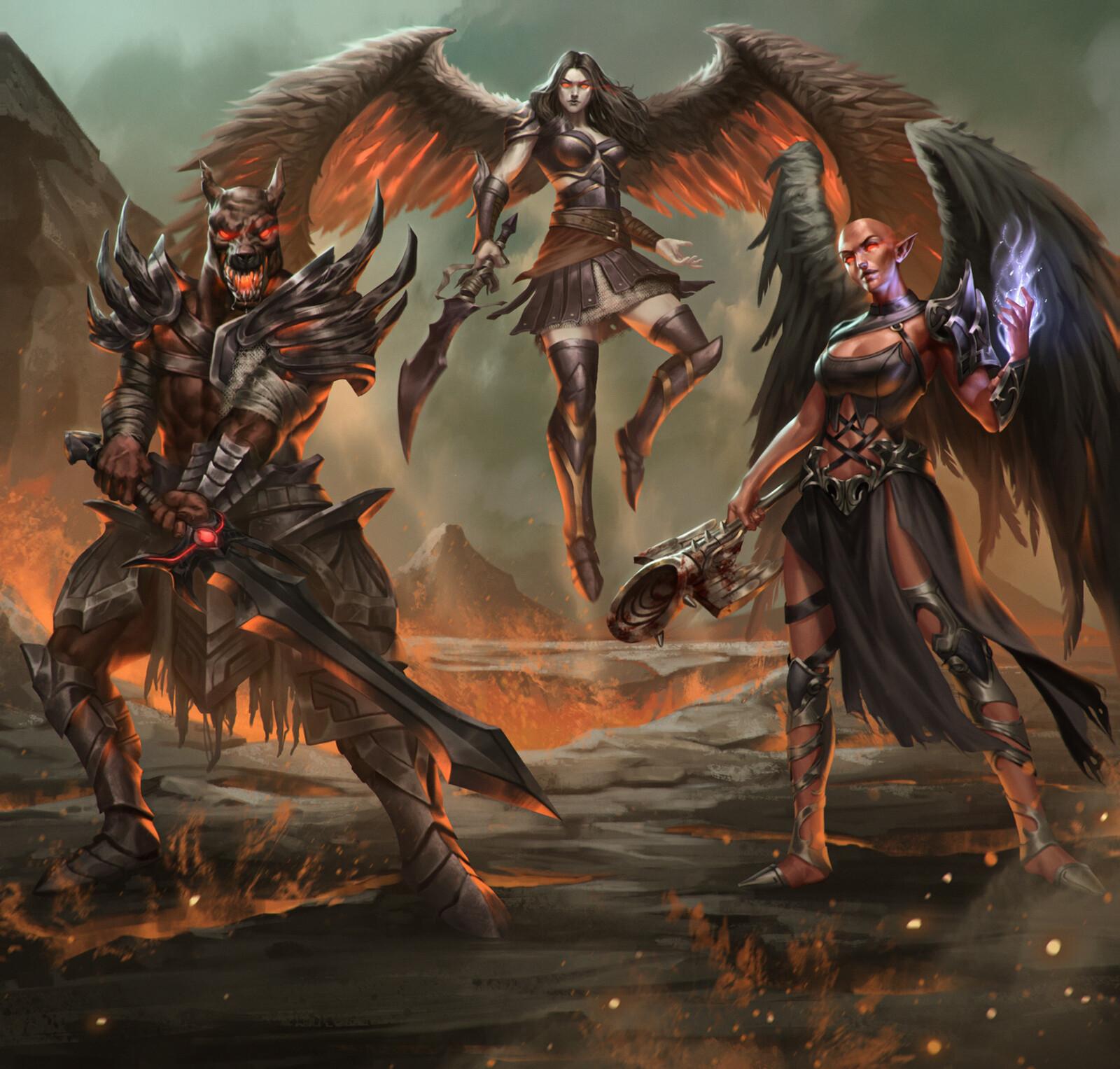 Fallen Archons Group 2