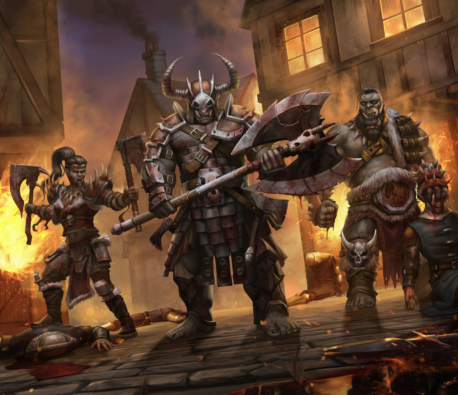 Orcs Group 1