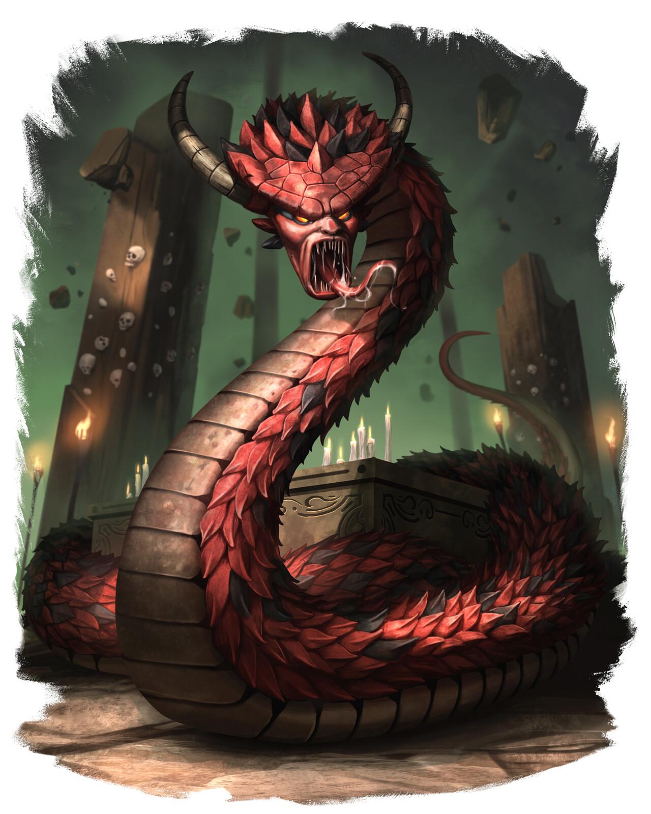 Eldritch Naga