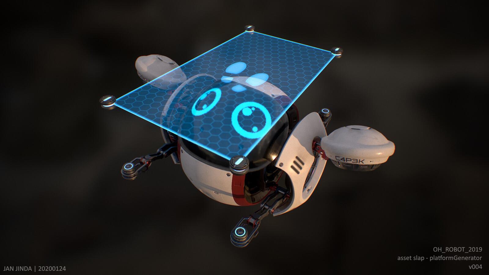 Pose - platform generator