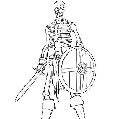 Martin estebani skeleton design