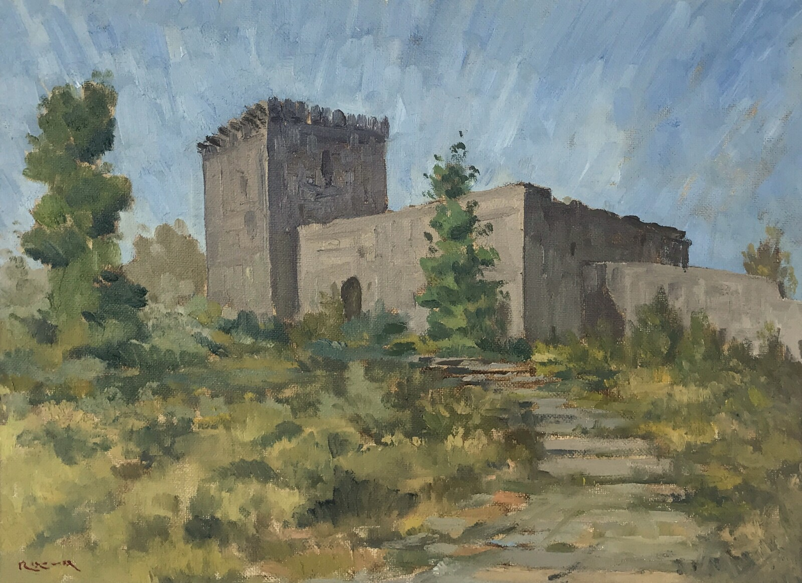 Monforte Castle, Portugal