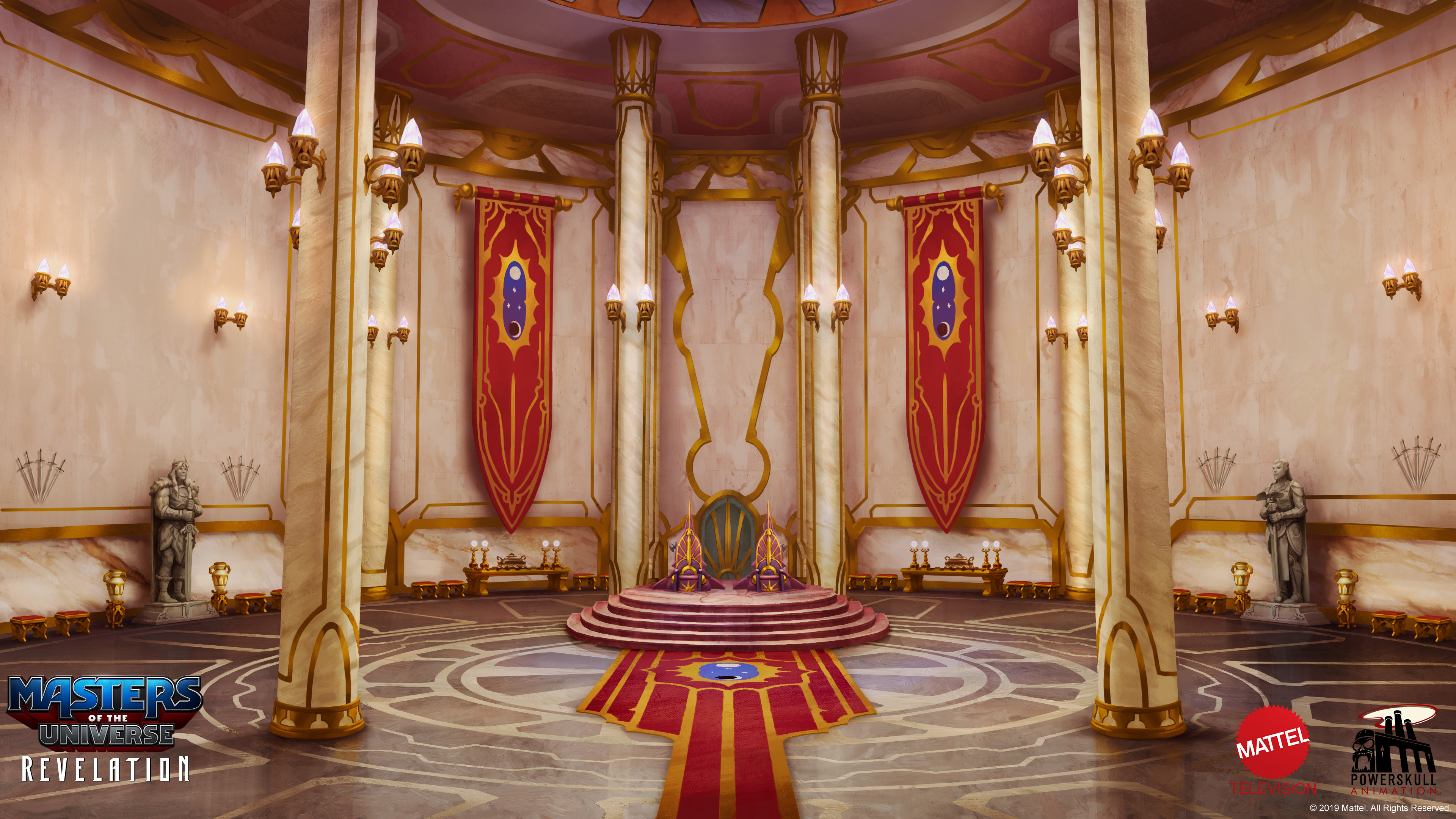 The Royal Palace Throne room