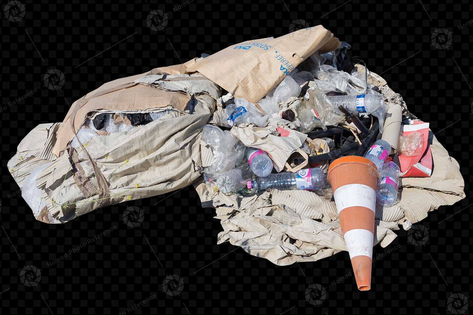 From the PNG Photo Pack: Trash Props volume 2  https://www.artstation.com/a/7545910