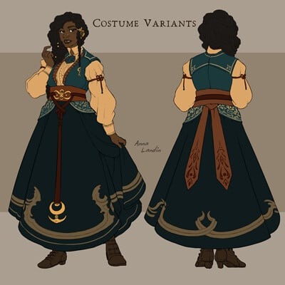 Anna landin witch col variants2