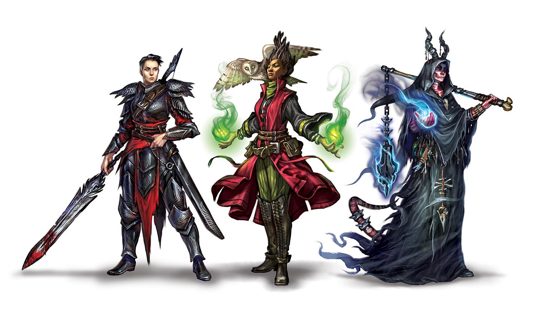 Ptolus Characters