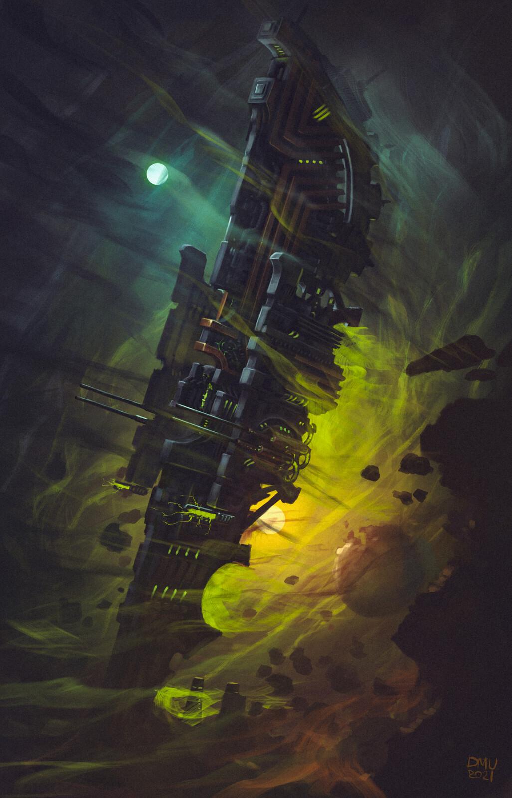 Ancient Necronian Starship