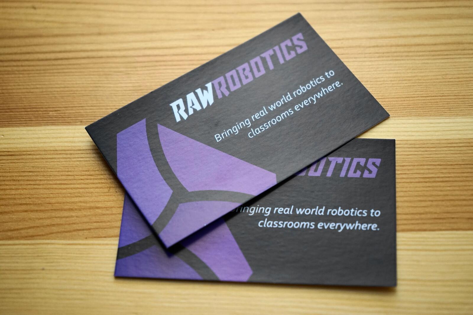 Raw Robotics - Branding