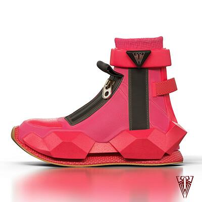 Raphael phillips shoe renderc