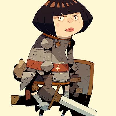 Satoshi matsuura 2021 07 24 bobbed knight s