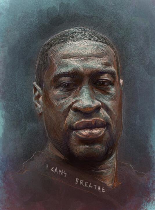 A Portrait of George Floyd