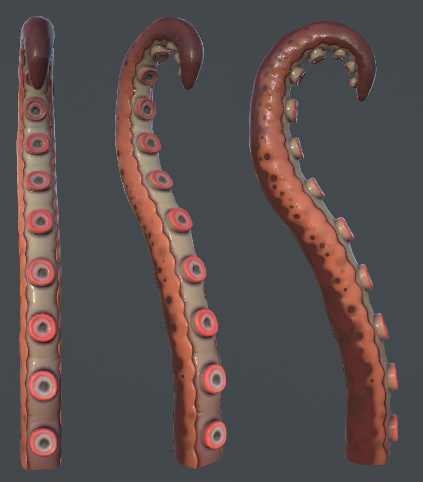Tentacle Textured Model