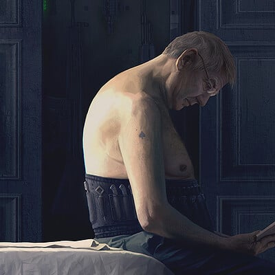 Alexey egorov old man in the morning
