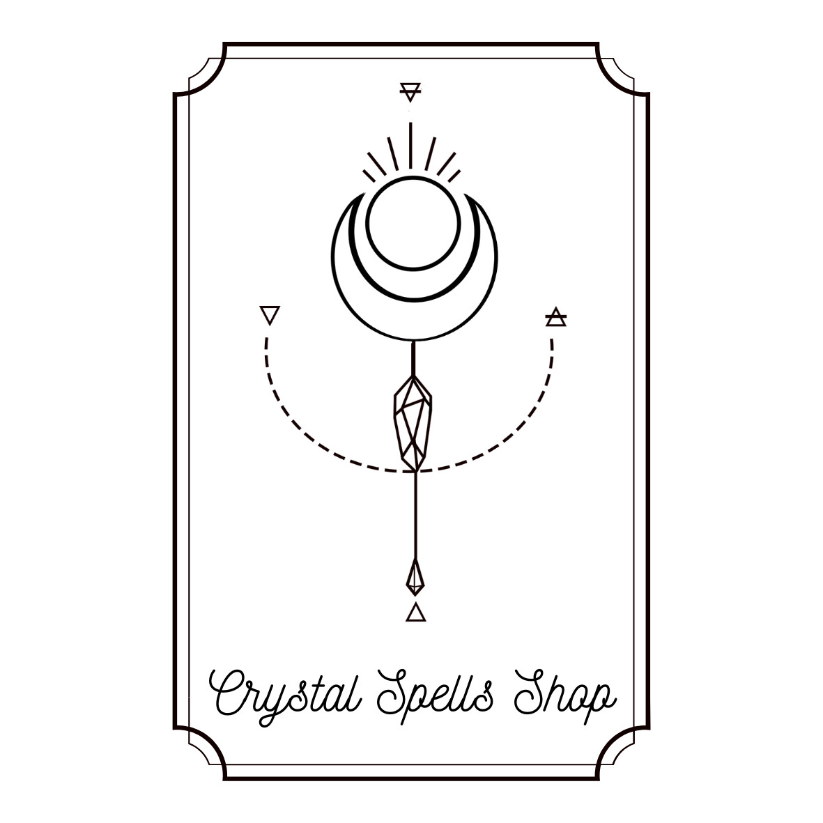 Logo created for online shop