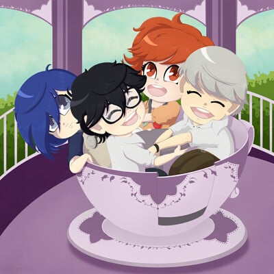 Four Fools in a Teacup