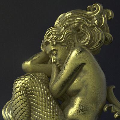 Nacho riesco gostanza sleeping mermaid ksr1 zbc
