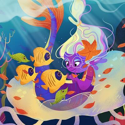 Mermy mermy|kidlit illustration
