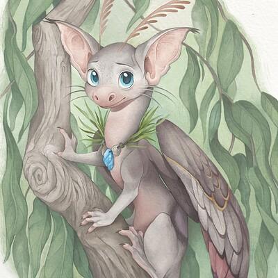 Moth Fairy Dragon